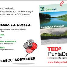 TEDxPuntaDelEste neutralizó la huella